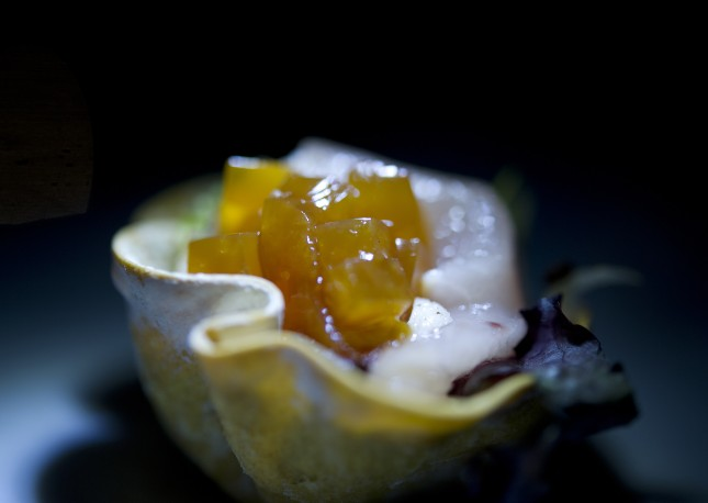 The evening's chefs made some amazing traceable appetizers